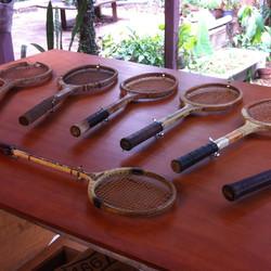 Tennis and squash rackets