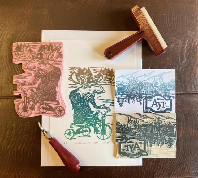 21-115: Printmaking w/o a Press