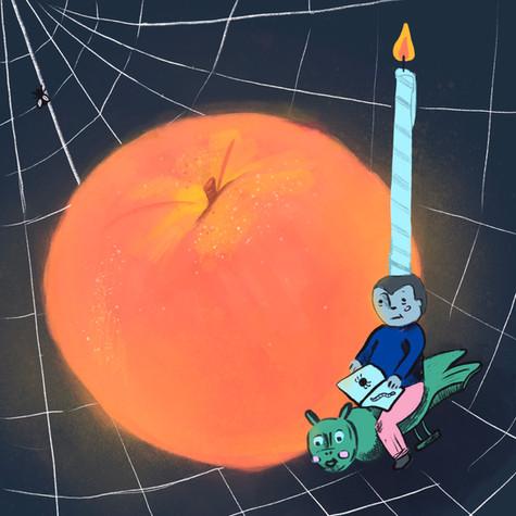 James & The Regular Sized Peach