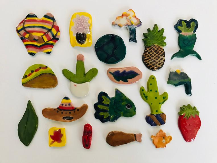 Ceramic Pins
