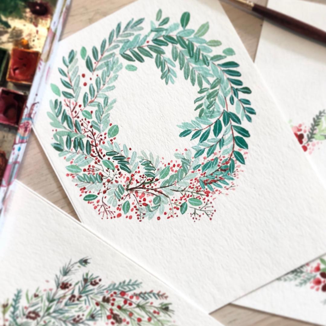 21-106: Winter Wreaths