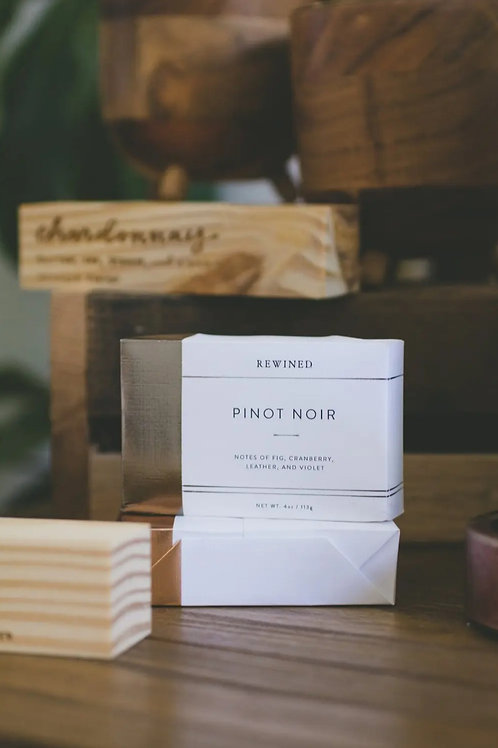 Rewined  Pinot Bar soap