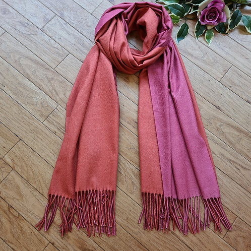 Double side super soft Cashmere scarf