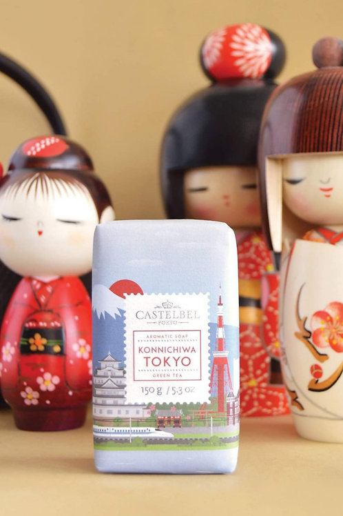 Cities Collection Luxury Portuguese soap Tokyo