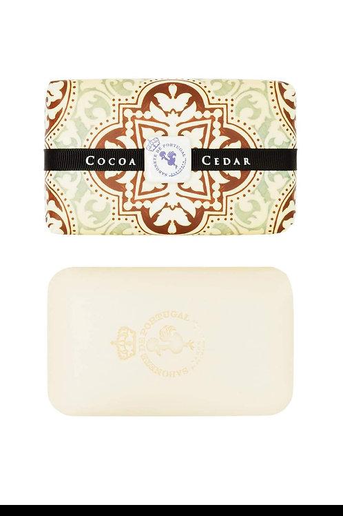 Tile Collection  Luxury Portuguese soap Cocoa & Cedar