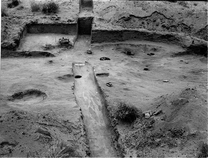 #tbt late 1950s. Excavation of Site 42Un