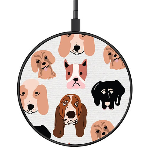 Dog Wireless  Charging Disk