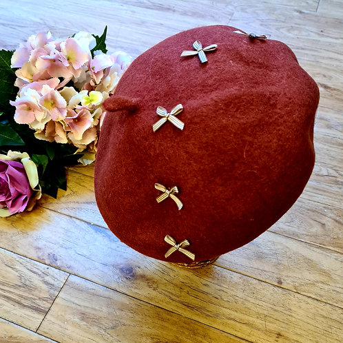 Parisienne Beret with bow