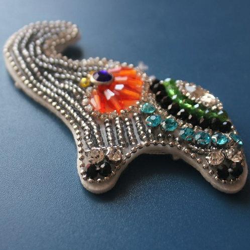 Elephant Brooch silver