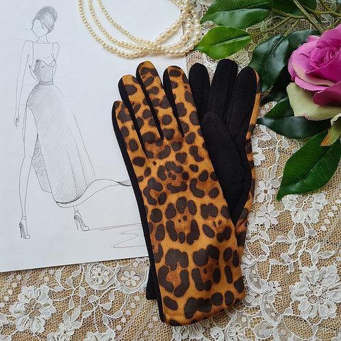 Animal print Gloves one size