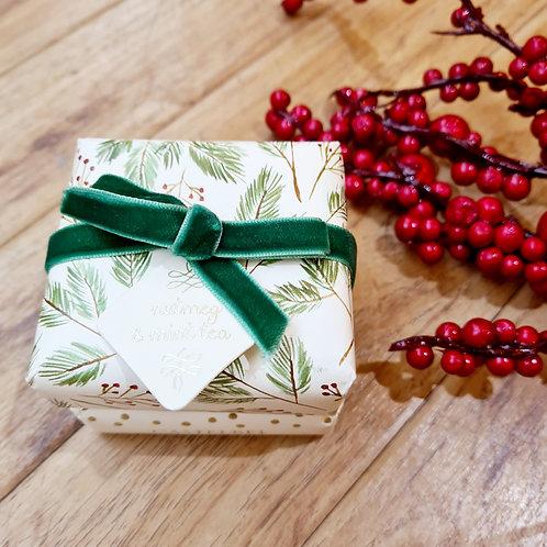 Castelbel Festive collection Nutmeg & Mint Tea  Set of 2 soaps