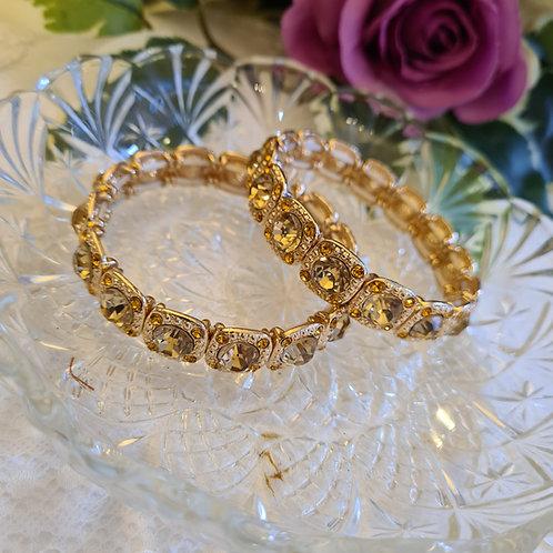 Diamonte Gold Bracelet