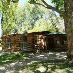 TBT, Josie Bassett Morris's cabin, chick