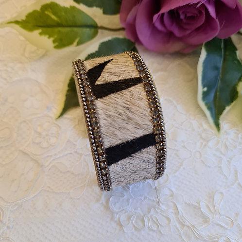 Animal Print Fur Bracelet