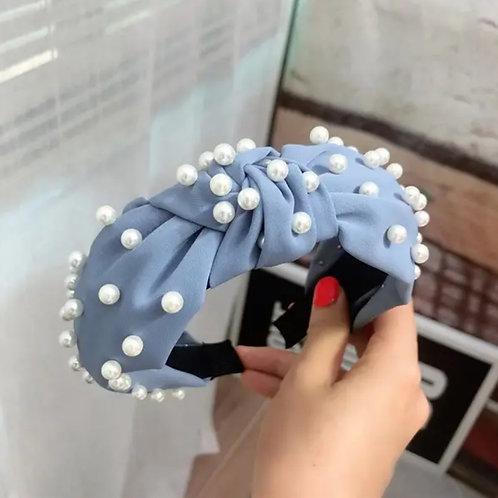 Blue Pear Headband