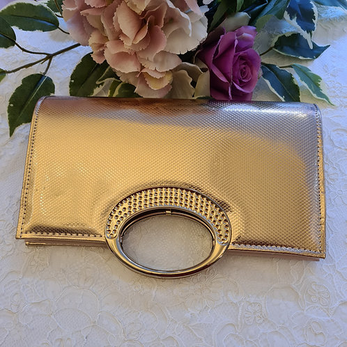 Clutch bag gold