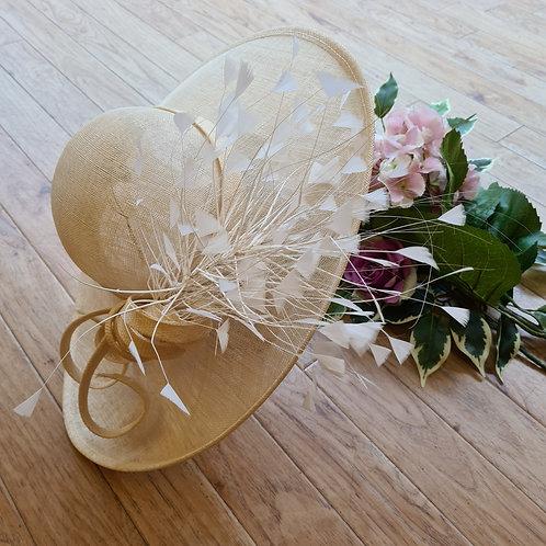 Wedding Hat ivory