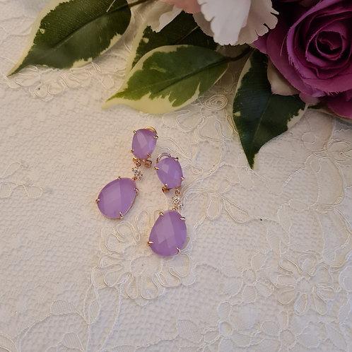 Light Lilac Earrings
