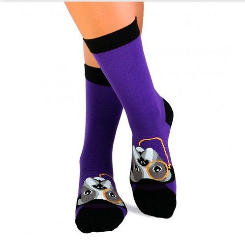 Monocle Combed cotton socks