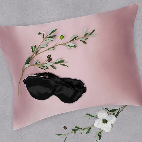 Baby pink 1x100%  Silk pillowcase