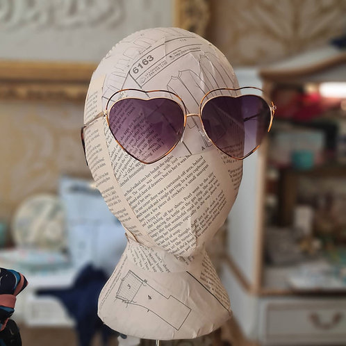 Brow Heart  Sunglasses