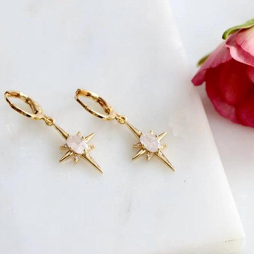 Romantic Star earrings