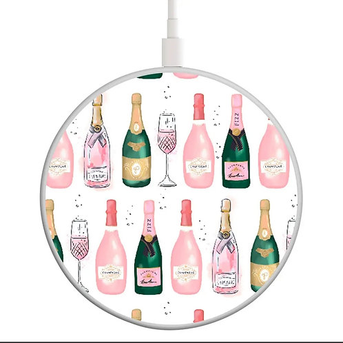 Champagne Wireless  Charging Disk