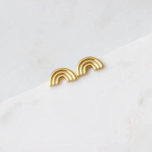 Rainbow Studs earrings