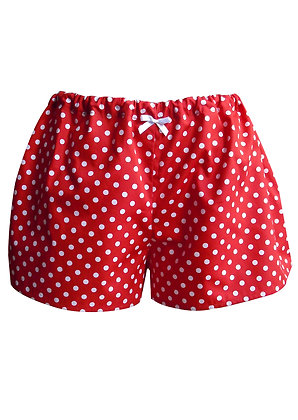 Polka Dot Pyjama Shorts