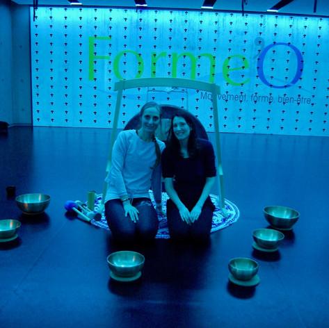 Avec Delphine Wentzo