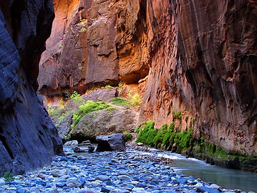 minyan in zion national park
