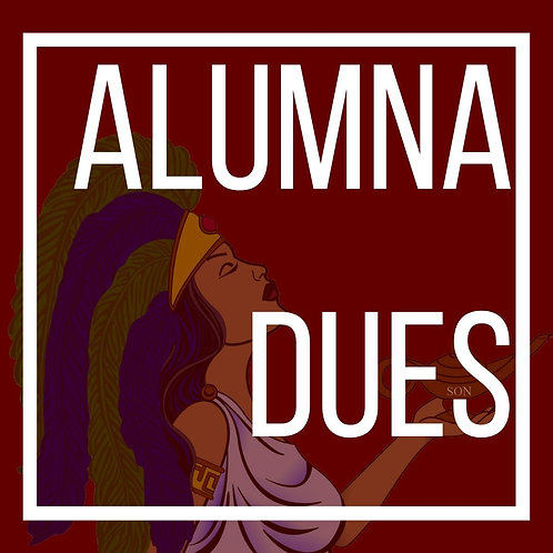 Burgundy Alumna Dues