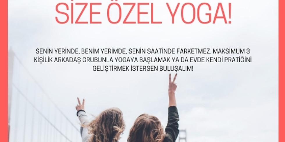 Arkadaş Grubu Yoga Dersi