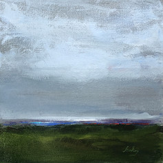 Green Grey Horizon