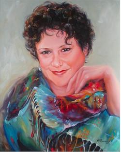 pintura de retratos a óleo