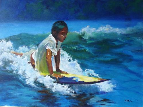 """QUADRO """"ESCOLA DE SURF"""""""