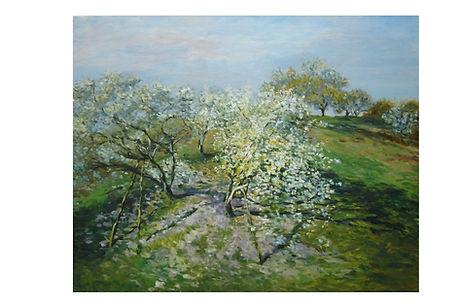 "Releitura de ""Monet"""