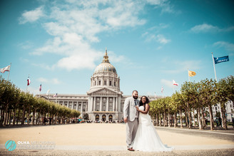Emily and Jaime's Destination Wedding at San Francisco City Hall