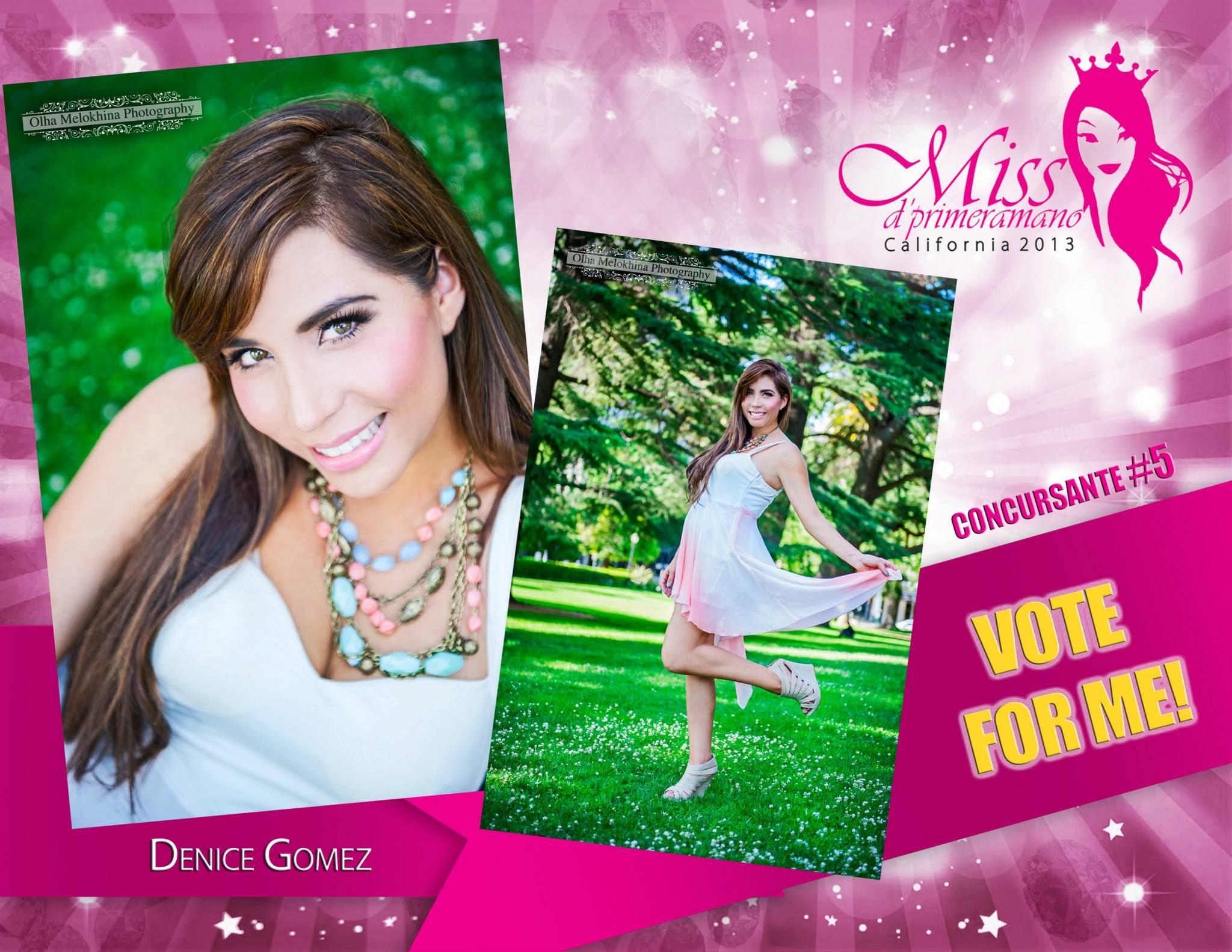 web vote poster for Miss Dprimeraman