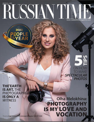 Featured in Russian Time Magazine
