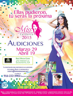 casting poster for Miss Dprimeramano