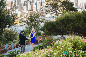 San Francisco Engagement Photo Shoot