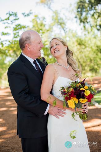 Lisa and Steve Wedding in Napa Valley