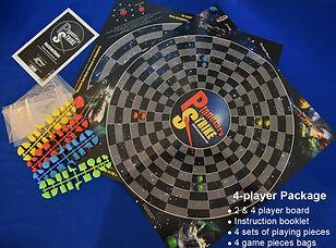 Planetary Strike 4 Player Game