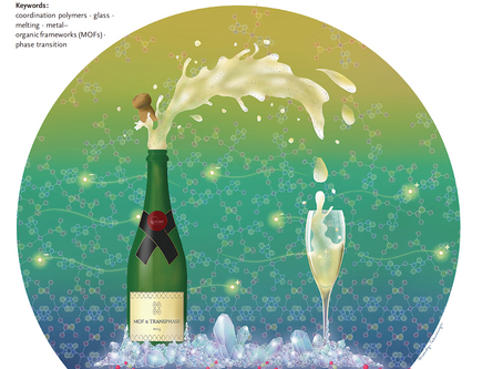 Made the frontispiece art for the journal Angewandte Chemie