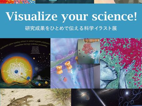 科学イラスト展を開催しています