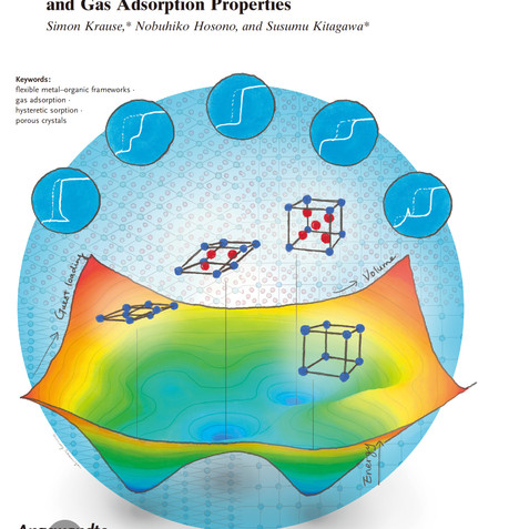 Chemistry of Soft Porous Crystals: Structural Dynamics and Gas Adsorption Properties