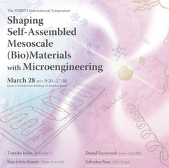 Self-assembly symposium poster / 自己集合ポスター