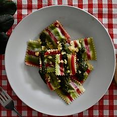 Ravioli de espinacas y ricotta