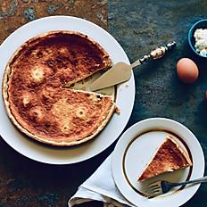 Crostata de ricotta y miel